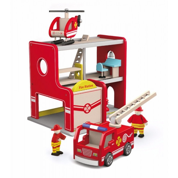 Viga Drevená Požiarna stanice