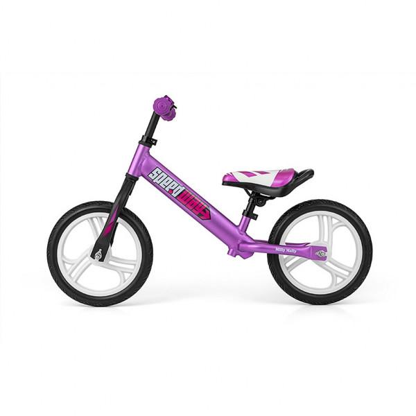 Detské odrážadlo bicykel Milly Mally Speedway 12