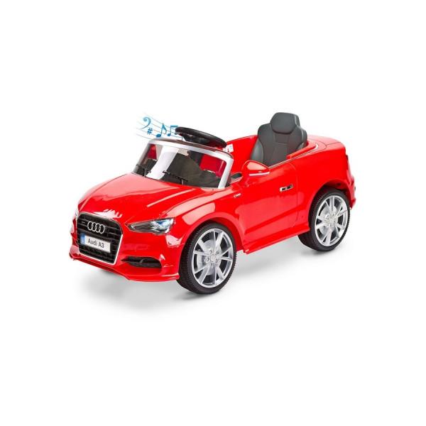 Elektrické autíčko Toyz AUDI A3-2 motory red