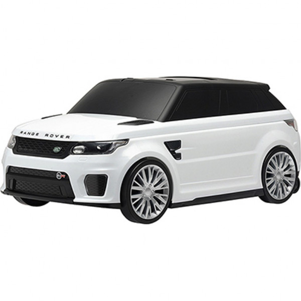 Detské jazdítko a kufrík 2v1 Range Rover SVR white