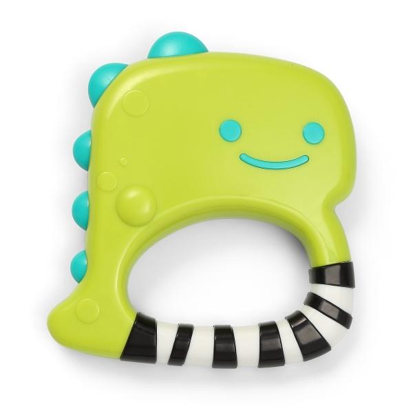BabyOno Detská hrkálka Dino Park - zelené