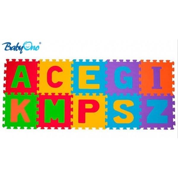 BabyOno Penové puzzle - Písmená - 10ks