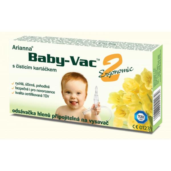 Morchella Dojčenská odsávačka hlienov - Arianna Baby-vac 2 s čistiacim kefkou