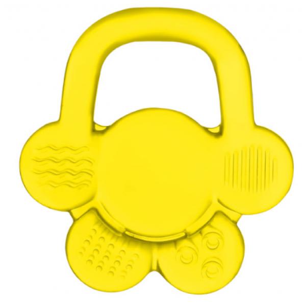 BabyOno Hryzátko gélové - Žlté