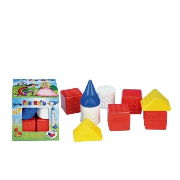 Teddies Kocky kubus Fantázia plast 9ks v krabičke od 6 mesiacov