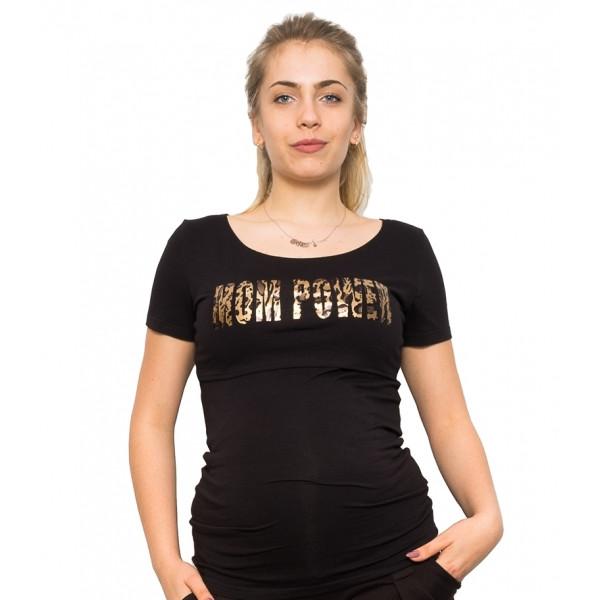 Be MaaMaa Tehotenské a dojčiace triko - Mom Power