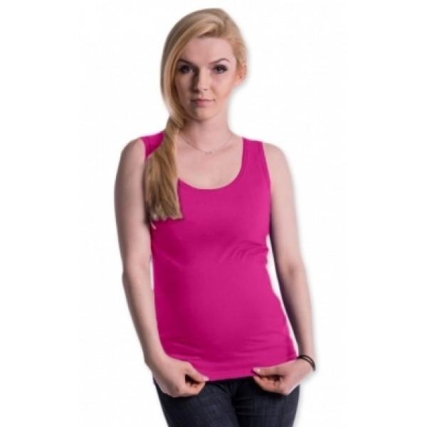 Be MaaMaa Tehotenské, dojčiace tielko s odnímateľnými ramienkami - ružové