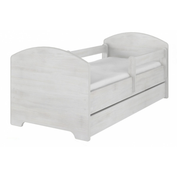 NELLYS Dětská postel HELI v barvě norské borovice s šuplíkom + matrac zadarmo, D19
