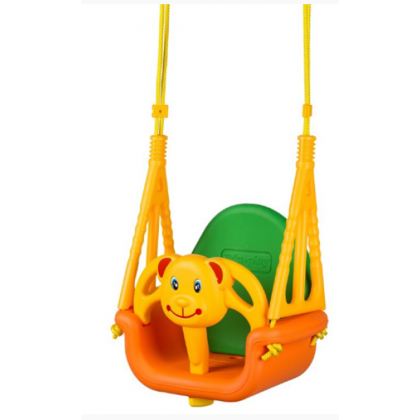 Eco toys Záhradná hojdačka 3v1 - Medvedík