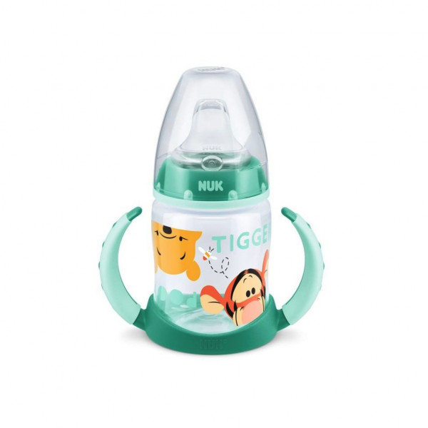 Dojčenská fľaša na učenie NUK 150 ml Disney Medvedík Pu zelená