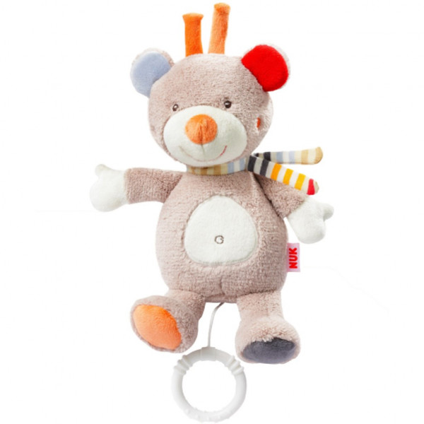 Detská plyšová hrajúca hračka Nuk méďa