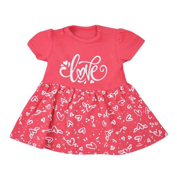 Dojčenské letné šaty Koala Love Summer peach