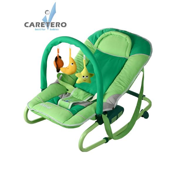 Detské lehátko CARETERO Astral green