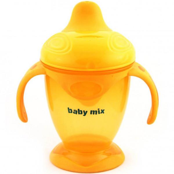 Detský kúzelný hrnček Baby Mix 200 ml oranžový