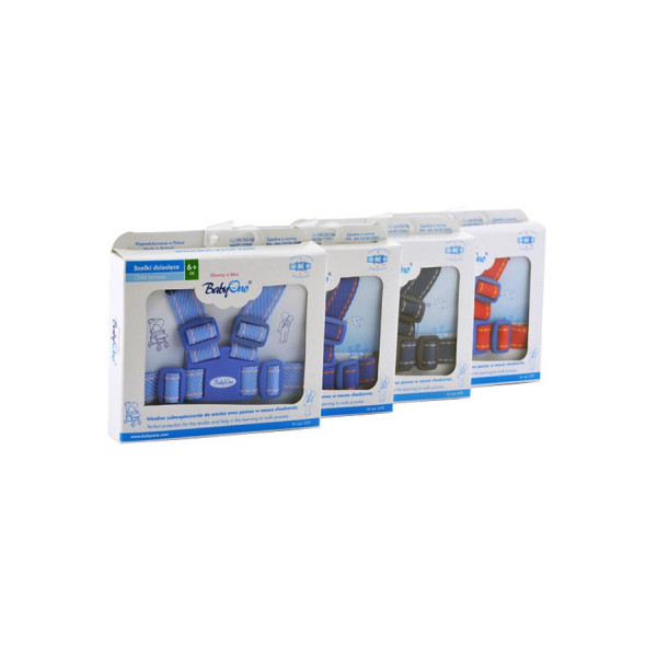 Náhradné bezpečnostné pásy do kočíka Baby Ono tmavo modré