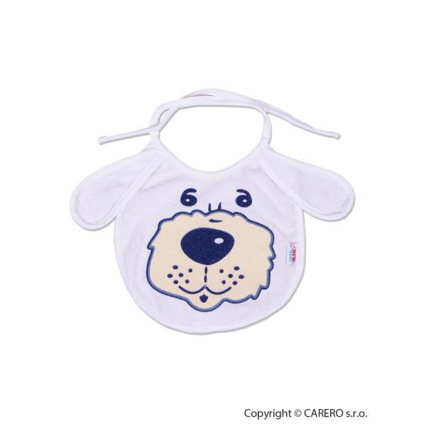 Detský podbradník New Baby bielo-modrý