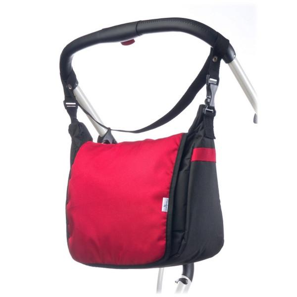 Taška na kočík CARETERO - red