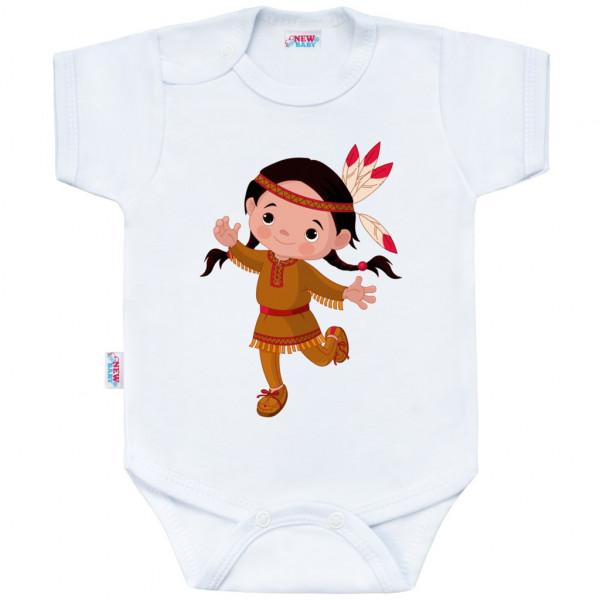 Body s potlačou New Baby Indian Girl