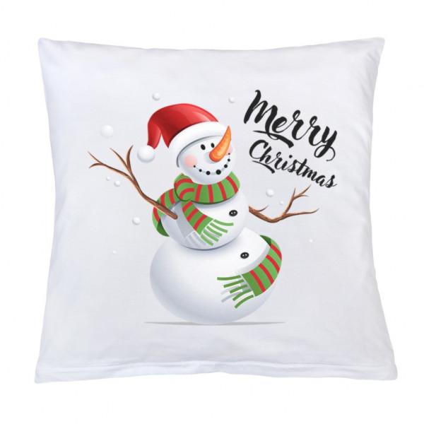 Vankúš s potlačou New Baby Merry Christmas 40x40 cm