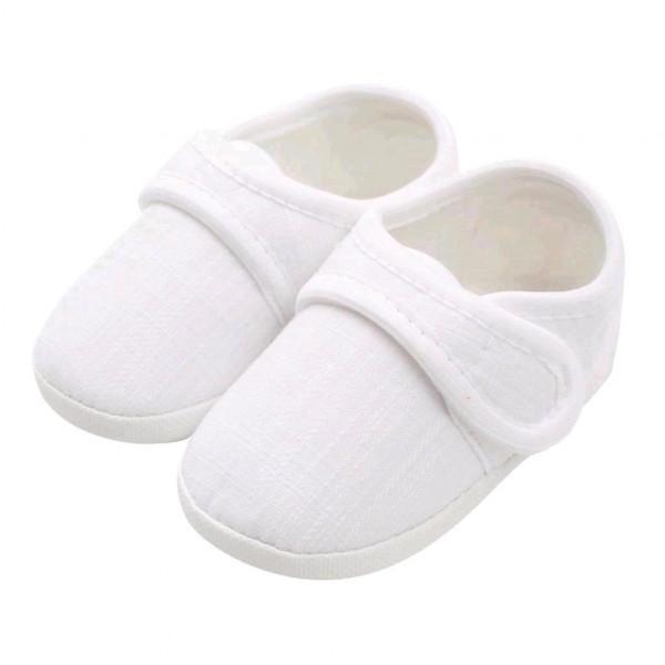 Dojčenské capačky New Baby Linen biele 12-18 m